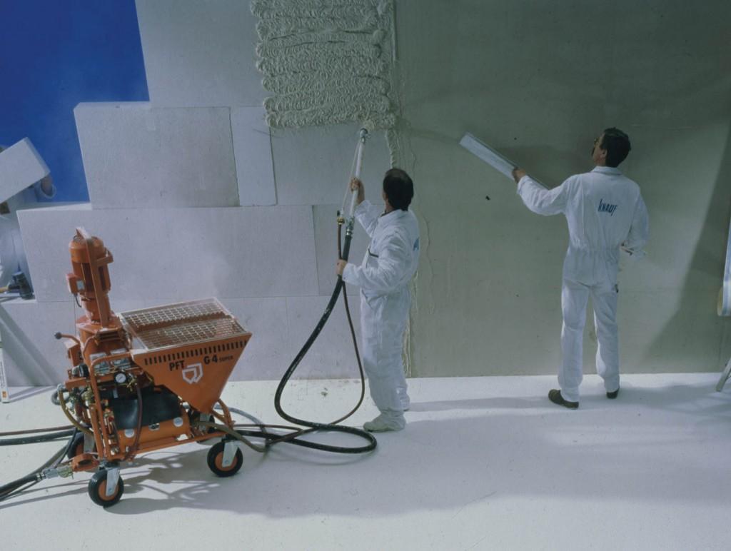 Tynk cementowo wapienny maszynowy