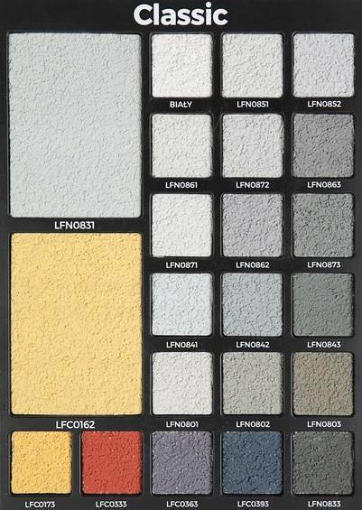 Tynk kolorowy zewnętrzny